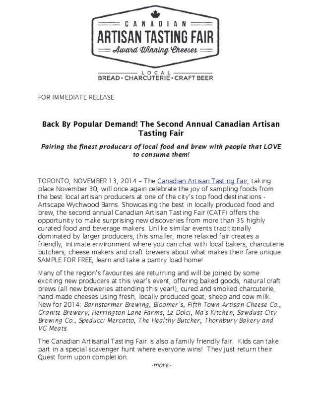 press release Page 1 of 3