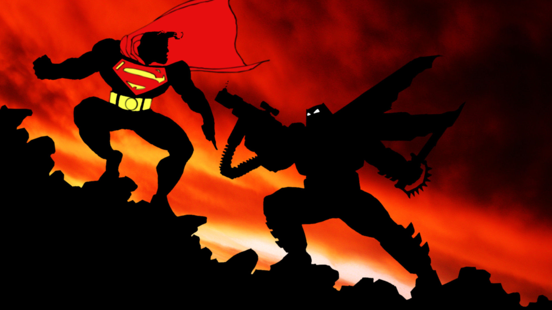 01 Batman Vs Superman In The Dark Knight Returns Comic