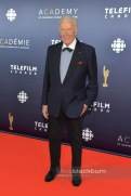 Christopher Plummer was presented with the Lifetime Achievement Award at the 2017 Canadian Screen Awards in Toronto Sunday