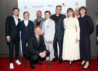 Martin Zandvliet 6th from left land of mine