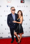 Alec and Hilaria Baldwin Carpet Shoes