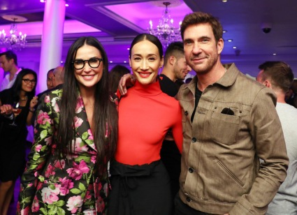 Demi Moore Maggie Q and Dylan McDermott