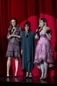 HOLLYWOOD, CA - APRIL 21: Actress Emily Deschanel, Mindy Sterling, and Kirsten Vangsness attend 'CATstravaganza featuring Hamilton's Cats' on April 21, 2018 in Hollywood, California. (Photo by Emma McIntyre/Getty Images for Kitty Bungalow)