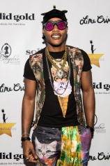 HOLLYWOOD, CA - APRIL 21: Rapper 'iAmMoshow' attends 'CATstravaganza featuring Hamilton's Cats' on April 21, 2018 in Hollywood, California. (Photo by Emma McIntyre/Getty Images for Kitty Bungalow)