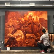 Martin Wittfooth work-in-progress (1)