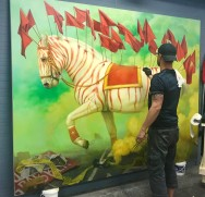 Martin Wittfooth work-in-progress (2)