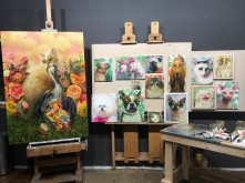 Martin Wittfooth work-in-progress (3)
