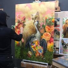 Martin Wittfooth work-in-progress (5)