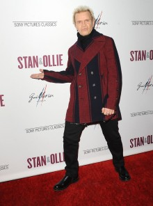"""-Hollywood, CA - 11/14/2018 SONY Picture Classics Presents """"Stan & Ollie"""" Special Screening After-party hosted By Guillotine Vodka -PICTURED: Billy Idol -PHOTO by: Michael Simon/startraksphoto.com -MS_46317 Startraks Photo New York, NY For licensing please call 212-414-9464 or email sales@startraksphoto.com"""