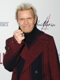 """-Hollywood, CA - 11/14/2018 SONY Picture Classics Presents """"Stan & Ollie"""" Special Screening After-party hosted By Guillotine Vodka -PICTURED: Billy Idol -PHOTO by: Michael Simon/startraksphoto.com -MS_46322 Startraks Photo New York, NY For licensing please call 212-414-9464 or email sales@startraksphoto.com"""