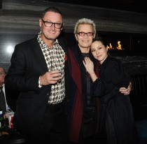 """-Hollywood, CA - 11/14/2018 SONY Picture Classics Presents """"Stan & Ollie"""" Special Screening After-party hosted By Guillotine Vodka -PICTURED: Jeff Pope, Billy Idol, China Chow -PHOTO by: Michael Simon/startraksphoto.com -MS_46329 Startraks Photo New York, NY For licensing please call 212-414-9464 or email sales@startraksphoto.com"""