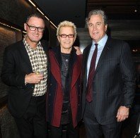 """-Hollywood, CA - 11/14/2018 SONY Picture Classics Presents """"Stan & Ollie"""" Special Screening After-party hosted By Guillotine Vodka -PICTURED: Jeff Pope, Billy Idol, Tom Bernard -PHOTO by: Michael Simon/startraksphoto.com -MS_46339 Startraks Photo New York, NY For licensing please call 212-414-9464 or email sales@startraksphoto.com"""