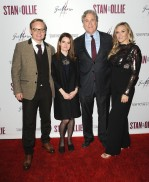 """-Hollywood, CA - 11/14/2018 SONY Picture Classics Presents """"Stan & Ollie"""" Special Screening After-party hosted By Guillotine Vodka -PICTURED: Jon S. Baird, Shirley Henderson, Tom Bernard, Cassidy Cook -PHOTO by: Michael Simon/startraksphoto.com -MS_46353 Startraks Photo New York, NY For licensing please call 212-414-9464 or email sales@startraksphoto.com"""