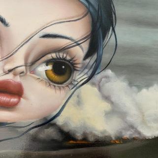 Marie Larkin wip (detail)